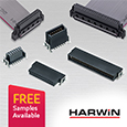 Archer Kontrol High performance PCB connectors from Harwin ideal for demanding medical applications, samples available from Anglia
