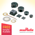 Comprehensive range of Sounders from Murata are suitable for a wide range of applications including IoT devices, samples available from Anglia