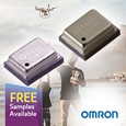 Introducing Omron MEMS-based Barometric Sensors for battery operated devices, samples available from Anglia