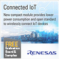 Introducing IDT® 6LoWPAN Module for Wirelessly Connecting IoT Devices from Renesas, samples and evaluation kit available from Anglia