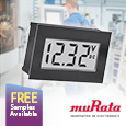 Introducing Cost Effective 2-Wire Digital Panel Meters From Murata, samples available from Anglia