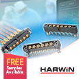 Anglia Introduce High Reliability Datamate Wire-to-Board 50Ω Coax Connectors from Harwin