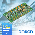 OMRON Evaluation Board that fast tracks IoT sensor system development now available from Anglia
