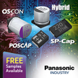 Introducing Panasonics comprehensive range of Polymer Capacitors for demanding applications, samples available from Anglia.