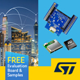 STMicroelectronics BlueNRG very low power Bluetooth modules ideal for IoT applications, evaluation board and samples available from Anglia