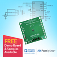 Compact, Efficient Wireless Li-Ion Charger with Regulator from Analog Devices Optimized for Low Power Wearables, demo kit and samples available from Anglia