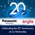 Panasonic celebrates 20 years of distribution success with Anglia Components