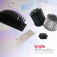 Anglia offers customised heatsink capability providing optimum thermal management for every application
