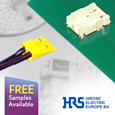 Hirose introduce the DF61 series of Wire to Board Power Connectors, samples available from Anglia