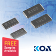 SLP series Current Sense Resistors from KOA offer High Precision for Demanding Applications, samples available from Anglia