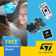 New Microcontroller family from STMicroelectronics offers ultra-low power consumption with advanced security features ideal for IoT applications, evaluation boards available from Anglia