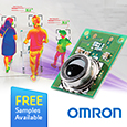 Omron D6T sensors provide contactless and accurate body surface temperature measurement, samples available from Anglia