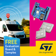 Simple to use Tiny GNSS module from STMicroelectronics ideal for Wearables, samples and evaluation boards available from Anglia