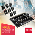 ROHM's Arduino Expansion Board Enables Configuration of a Sensor Environment in 5 Minutes, evaluation boards available from Anglia