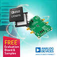 Introducing the LTC6373 Fully-Differential Programmable-Gain Instrumentation Amplifier with 25pA Input Bias Current from Analog Devices, evaluation board and samples available from Anglia