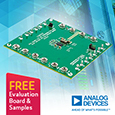 Introducing Dual Channel Synchronous Step-Down Silent Switcher 2 with Very Low Quiescent Current from Analog Devices, samples and evaluation board available from Anglia