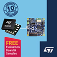 STMicroelectronics Breaks Down Barriers to Broad Adoption of Vibration Monitoring in Industry 4.0 Applications, samples and evaluation boards available from Anglia