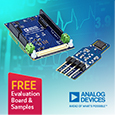 Analog Devices introduce Temperature Sensor for VSM applications with ±0.1°C accuracy, samples and evaluation boards available from Anglia.