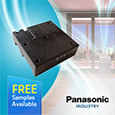 Laser Type Particulate Matter Sensors from Panasonic are ideal for indoor and outdoor air quality monitoring, samples available from Anglia.