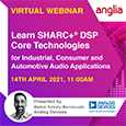 Analog Devices SHARC+ DSP Technology for Industrial, Consumer and Automotive Audio Applications