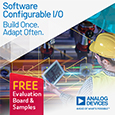 Analog Devices Release First Software Configurable Industrial I/O for Building Control and Industrial Automation, evaluation board and samples available from Anglia