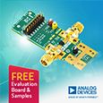 Analog Devices introduce ultrawideband 10MHz to 60 GHz 4-bit digital attenuator, evaluation board and samples available from Anglia