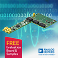 Analog Devices introduce high performance data acquisition solution that eases engineering challenges for precision applications, evaluation board and samples available from Anglia