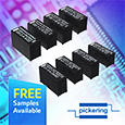 Introducing Pickering reed relays with low thermal EMF for direct drive from Logic ICs, samples available from Anglia