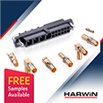 The Datamate Mix-Tek family from Harwin offers versatile high reliability connectors for demanding environments, samples available from Anglia
