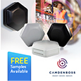 Introducing the versatile HEX-BOX enclosures from CamdenBoss ideal for IoT applications, samples available from Anglia
