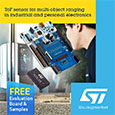 STMicroelectronics expand the VL53L series of ToF ranging sensors offering advanced proximity, multi-zone, multi-target and multi-object detection, evaluation kit and samples available from Anglia