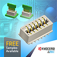 AVX expand Card Edge connector family with addition of Surface Mount Vertical Dual Row Top Entry type, samples available from Anglia