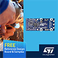STMicroelectronics compact reference design for brushless DC motor control simplifies development, evaluation board and samples available from Anglia