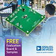 Synchronous buck regulator from Analog Devices delivers high efficiency at very light load currents, evaluation board and samples available from Anglia