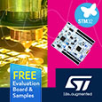 STMicroelectronics expand the STM32G4 Access Line of ARM microcontrollers with increased memory capacity options, evaluation kit and samples available from Anglia