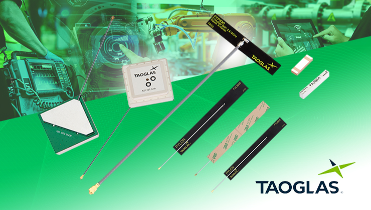 Anglia Components to distribute Taoglas IoT products